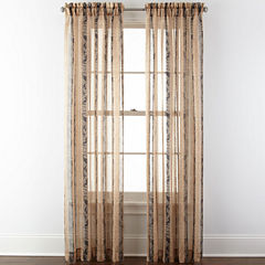 Home Expressions™ Regan Rod-Pocket Sheer Panel