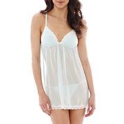 Intimo Donatella® Chiffon Babydoll and Panty Set