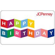 $10 Happy Birthday Banner Gift Card