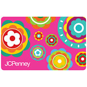 $50 Pink Flowers Gift Card