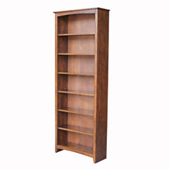Shaker 7-Shelf Bookshelf