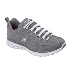 Skechers® Spot On Lace-Up Womens Sneakers