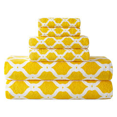 JCPenney Home™ Ogee Trellis Bath Towel Collection