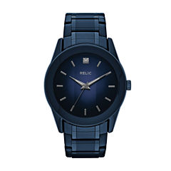 Relic Mens Blue Bracelet Watch-Zr77281