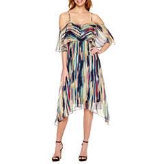 a.n.a Off the Shoulder Flutter Dress