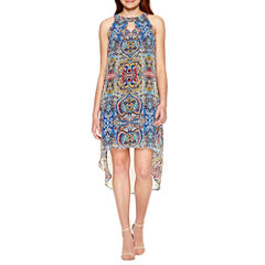 Alyx Sleeveless Hi Low Dress