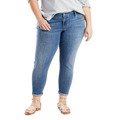 Levi's 711 Skinny Ankle Jeans-Plus (27