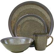 Sango Omega 16-pc. Reactive Glaze Dinnerware Set