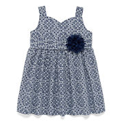 Marmellata Sleeveless Printed Sundress - Baby Girls 3m-24m