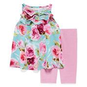 Marmellata Sleeveless Halter Dress Set - Baby Girls 3m-24m