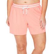 City Streets® Bermuda Shorts - Juniors Plus