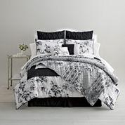 Home Expressions™ Vermillion Floral 4-pc. Comforter Set + BONUS Quilt