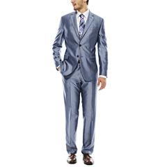 JF J. Ferrar® Shimmer Blue Suit Separates - Slim Fit