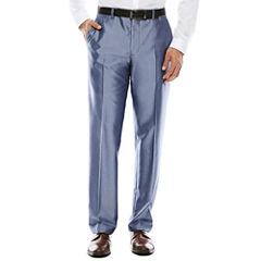 Men's JF J. Ferrar® Shimmer Blue Flat-Front Slim Fit Suit Pants