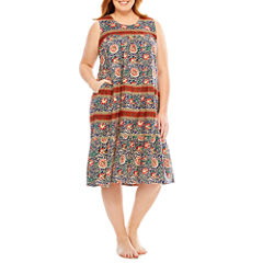 Knit Nightgown-Plus