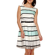 Danny & Nicole® Sleeveless Shantung Party Dress