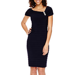 Scarlett Sleeveless Sheath Dress