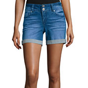 Wallflower Denim Shorts