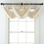 Royal Velvet® Plaza Grommet-Top Waterfall Valance