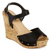 Arizona Lucy Wedge Sandals