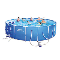 Bestway Steel Pro Frame Pool Set 18 Feet x 48 Inches