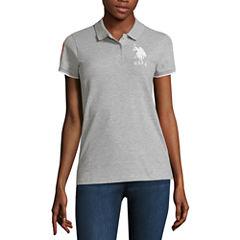 U.S. Polo Assn. Solid Knit Polo Shirt-Juniors