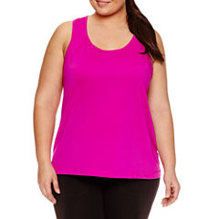 Xersion™ Knit Tank Top-Plus