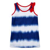 Okie Dokie® Side-Knot Dress - Baby Girls newborn-24m