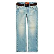 Arizona Belted Original-Fit Jeans - Boys 8-20, Slim and Husky