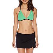 Nike® Reversible Racerback Swim Top or Solid Board Skirted Swim Bottoms