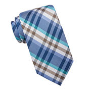 Stafford® McMurray Plaid Silk Tie