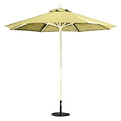 9' Round Wood Umbrella