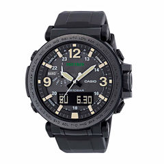 Casio Pro-Trek Mens Black Strap Watch-Prg-600y-1