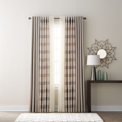 JCPenney Home Quinn, Batiste Sheer U0026 Studio Tempest Grommet Top Curtain  Panels