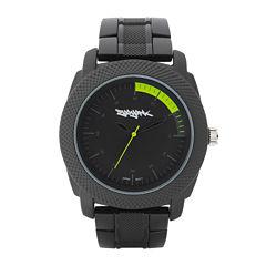 Zoo York® Mens Yellow and Black Bracelet Watch