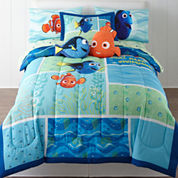 Disney® Finding Dory Reversible Comforter + BONUS Sham & Accessories