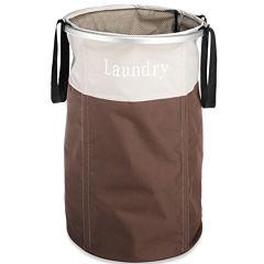 Whitmor Easy Care Laundry Hamper Java
