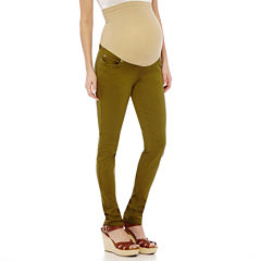 Maternity Overbelly Colored Skinny Pants