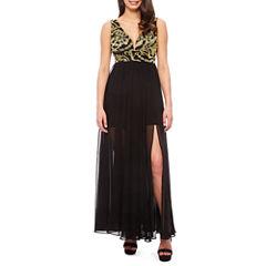 Renn Sleeveless Evening Gown