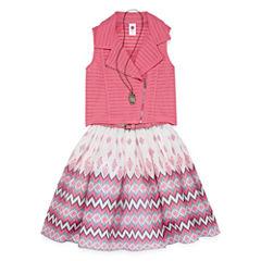Total Girl 2-pc. Jacket Dress Big Kid Girls
