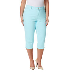 Gloria Vanderbilt Plus Size Capris & Crops for Women - JCPenney
