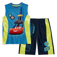 Disney 2-pc. Cars Short Set Big Kid Boys