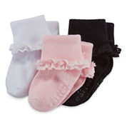 Carter's® 3-pk. Dress Socks - Baby Boys newborn-24m