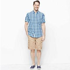 St. John's Bay® Poplin Shirt or Cargo Shorts
