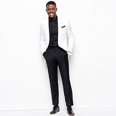 JF J. Ferrar® Cotton Sport Coat, Flat-Front Pants or Dress Shirt