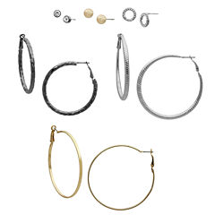 Bold Elements 6-pc. Earring Sets