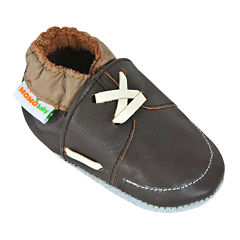 Momo Baby Loafer Boys Crib Shoes-Baby