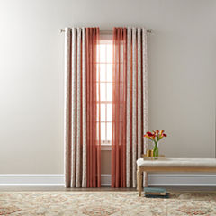 JCPenney Home Anza & Bayview Sheer Grommet-Top Curtain Panels