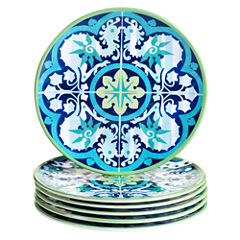 Certified International Granada 6-pc. Salad Plate
