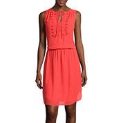 Bisou Bisou® Sleeveless Yoke Dress